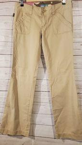 Hollister Tan Bootcut Pants